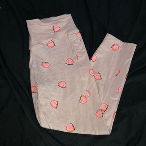 COPY - PINK peach leggings